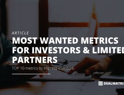 Most wanted startup metrics for investors & limited partners